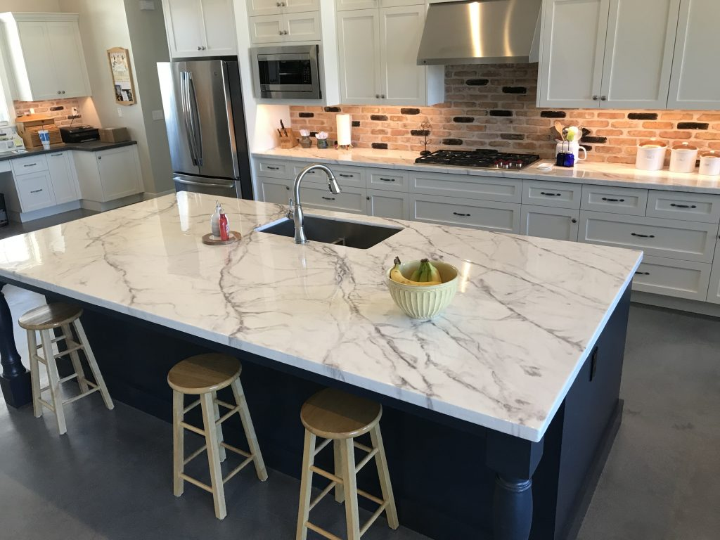 White Epoxy Countertops